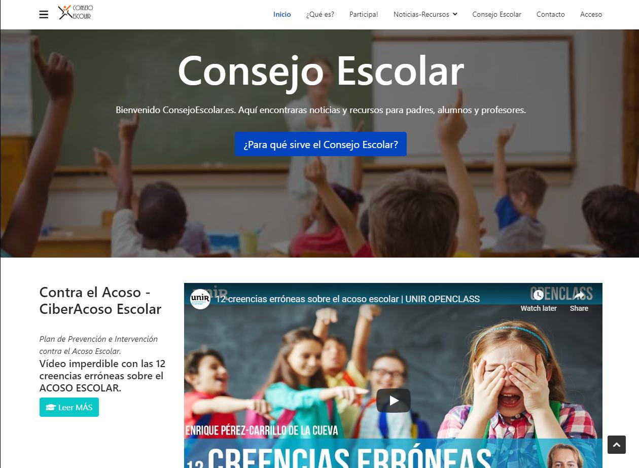 consejo escolar web